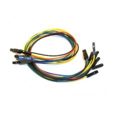 10 Jumper Wires Female-Female 30cm