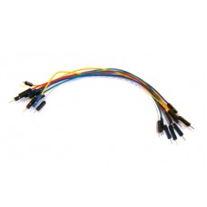 10 Jumper Wires Male-Male 20cm
